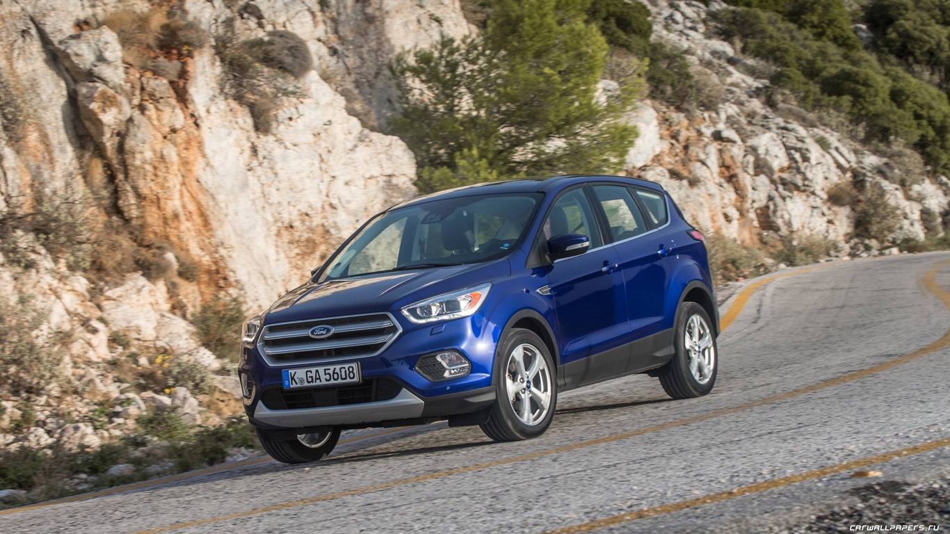 Ford Kuga Titanium 2016 1366x768 0201